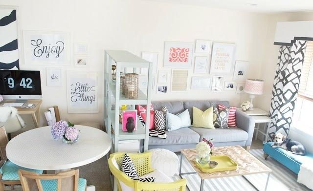 Startseite Design Bilder – Minimalistisch Roomtour Wohnzimmer Küche ...