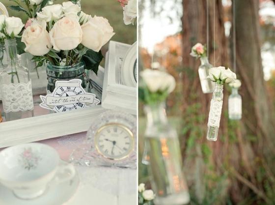 Vintage Hochzeit mit Eleganz und Glamour feiern