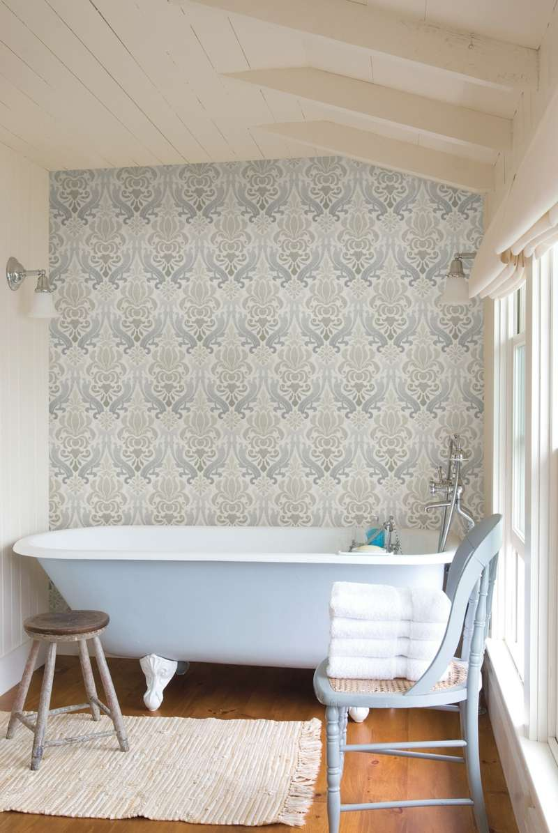 Badezimmer ohne Fliesen mal anders gestalten  26 Ideen