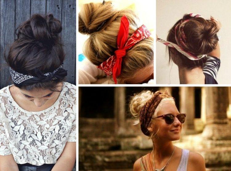 Bandana Frisuren 28 Ideen Zum Ausdruck Der Femininität