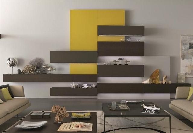 stunning wohnzimmer gelb braun images - amazing home ideas ... - Wohnzimmer Braun Gelb