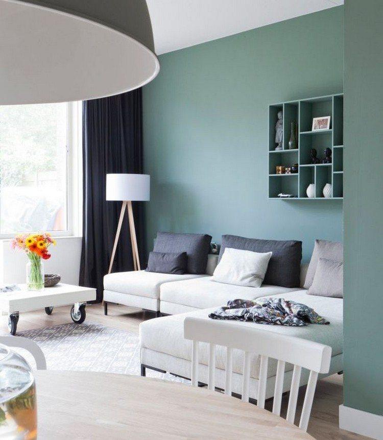 Trendige Farben fr die Wohnzimmerwnde  25 Ideen