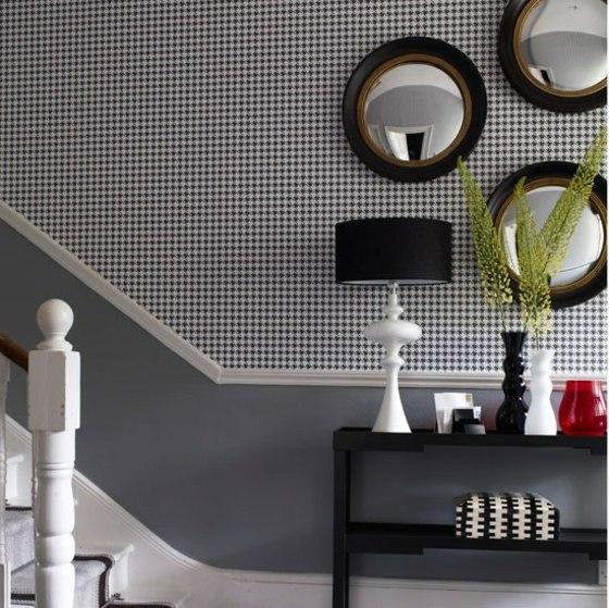 Kreative Wandgestaltung in dem Flur oder in der Diele 26 Ideen