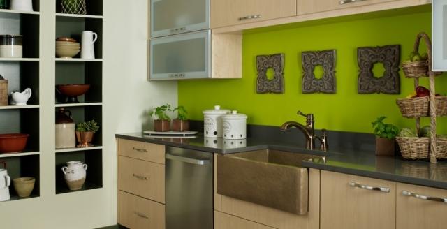 farben kuche streichen modern haus - boisholz, Kuchen