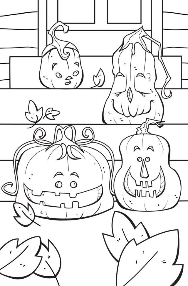 25 Halloween Bilder zum Ausmalen - Kostenlos ausdrucken