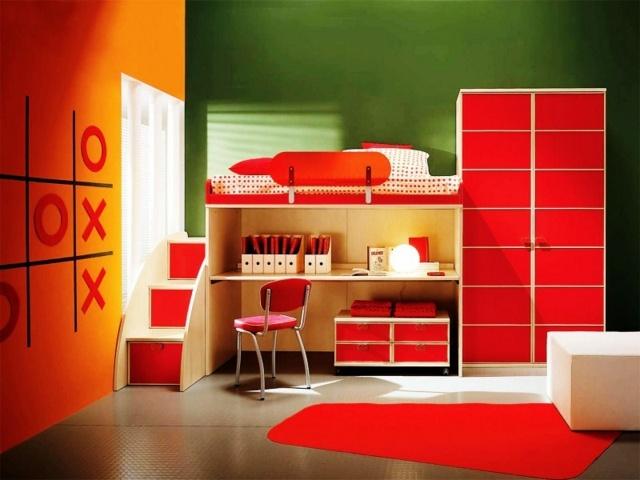 Ideen zum Jugendzimmer streichen fr Mdchen und Jungs
