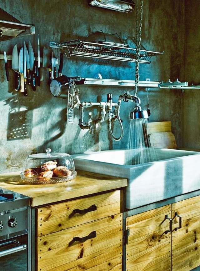 Casa Despojada  Industrial Vintage Wohnhaus im LoftStil