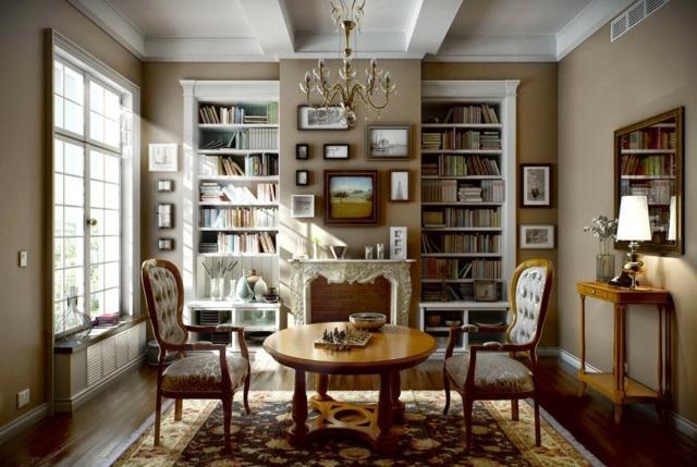 Franzsischen Stil fr das Interieur der Wohnung whlen