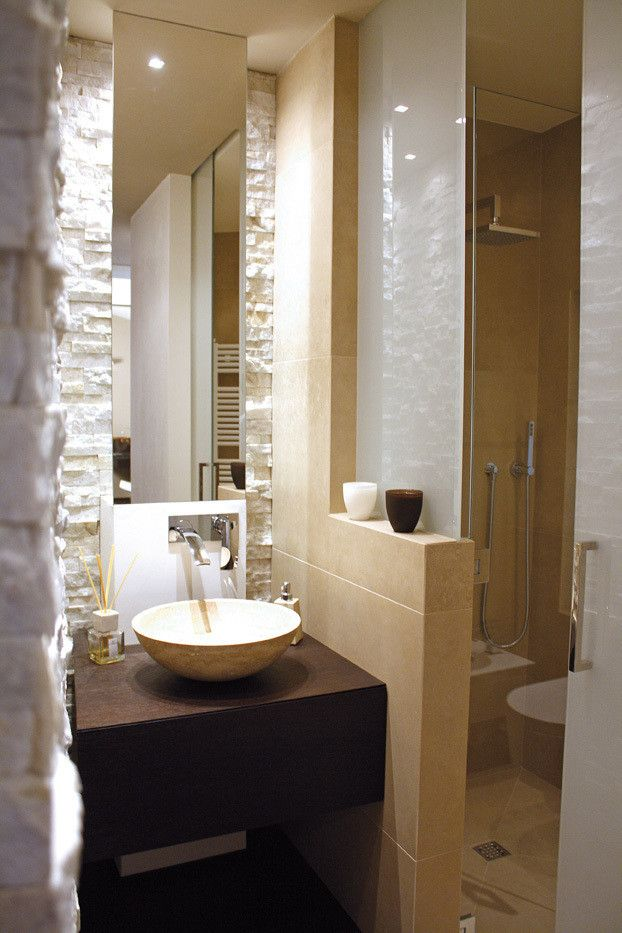 42 Ideen fr kleine Bder und Badezimmer Bilder