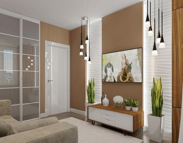 Kleines Wohnzimmer Einrichten Modern Beige Weiss ...