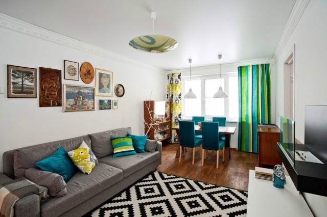 Kleine Wohnzimmer Modern ~ Inspirierende Bilder Von Wohnzimmer ... Kleine Wohnzimmer Mit Essbereich