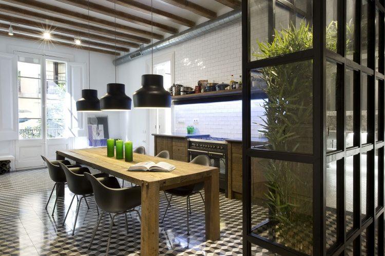99 Kchen modern  Tendenz Holzoptik ist In