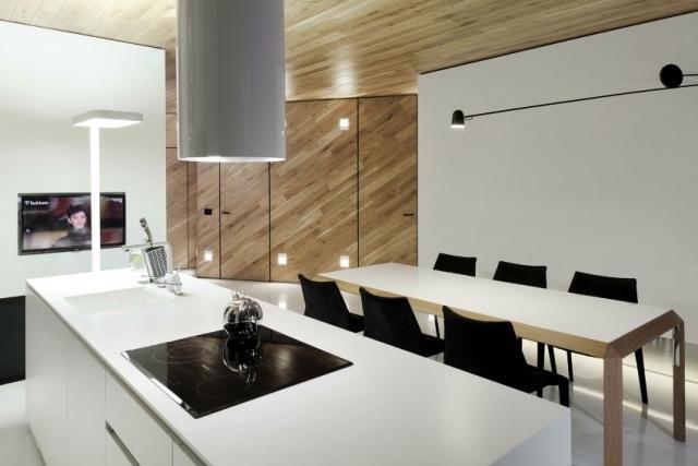 Moderne Designer Loftwohnung Mit Irregulrem Grundriss