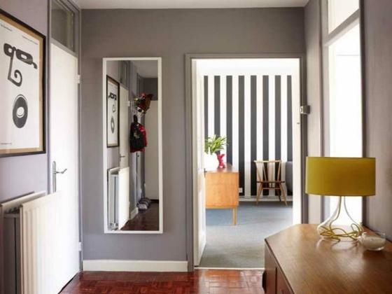Wandfarbe fr Flur 18 kreative Ideen mit Stil