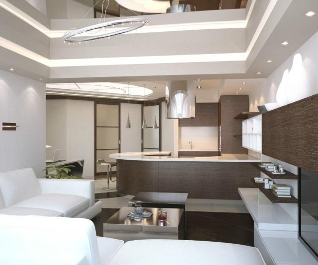 Wohnung einrichten mit Stil  Tipps zum offenen Wohnen
