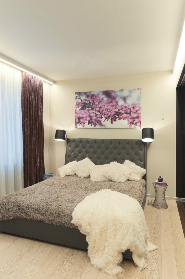 deko ideen fuer einen lila schlafzimmer - boisholz - Schlafzimmer Dekorieren