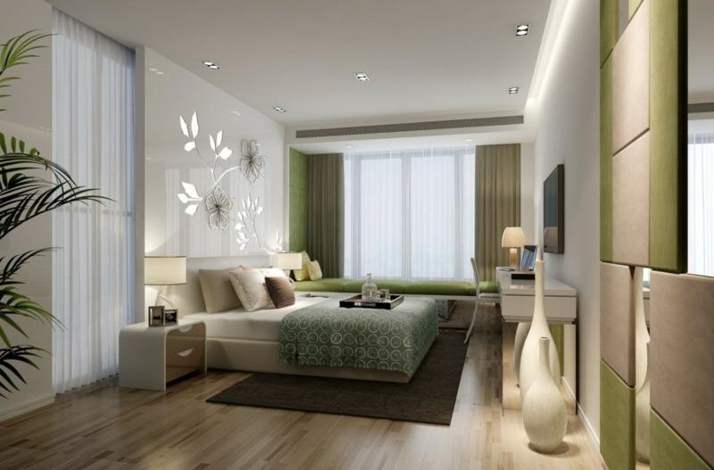 Schlafzimmer Farbgestaltung  Tne Tapeten  HighEnd Betten