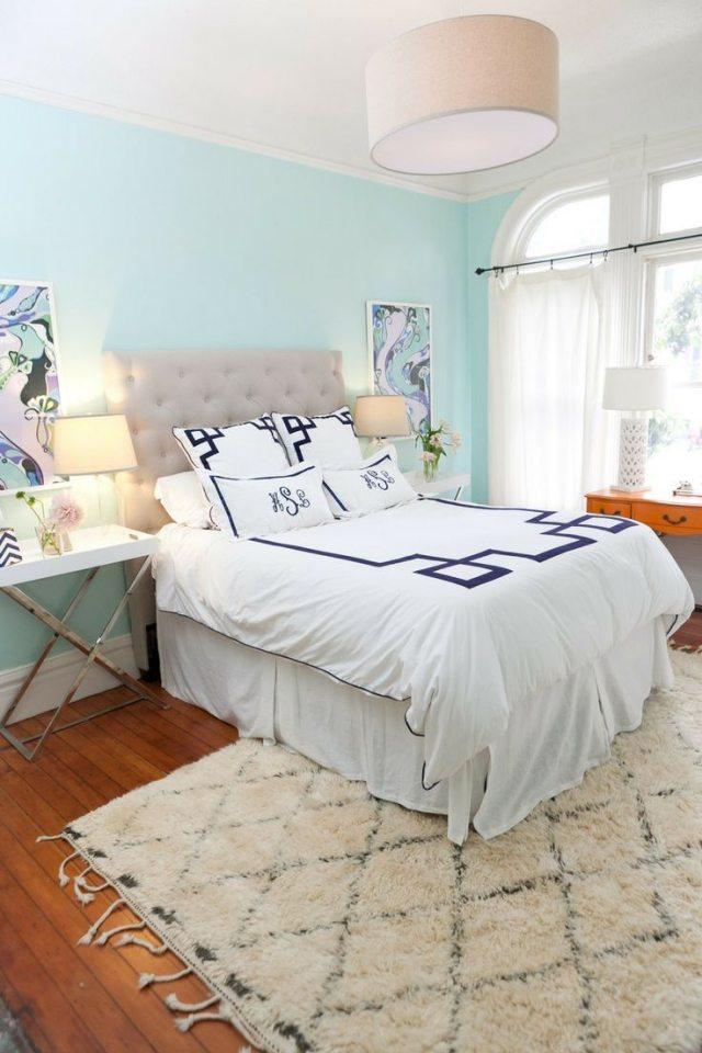 Wandfarben im Schlafzimmer 105 Ideen fr schne Nchte