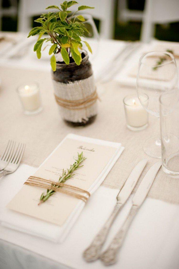 Servietten falten zur Hochzeit  30 zauberhafte Ideen