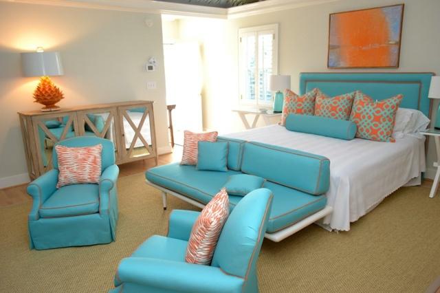 Dekoration aus Korallfarben fr die Wohnung  22 Beispiele