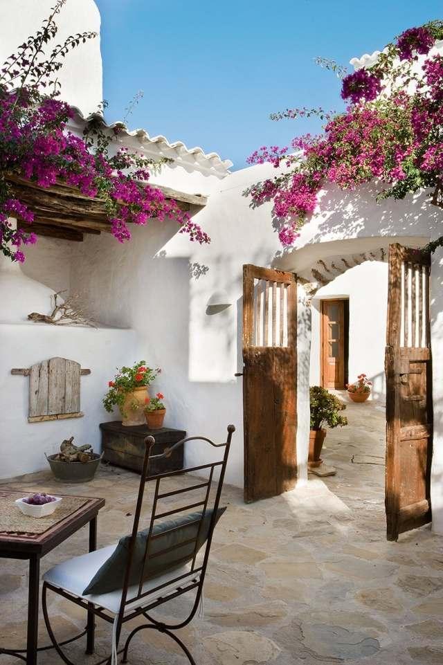 30 Beispiele fr Terrassengestaltung mit ToskanaFlair