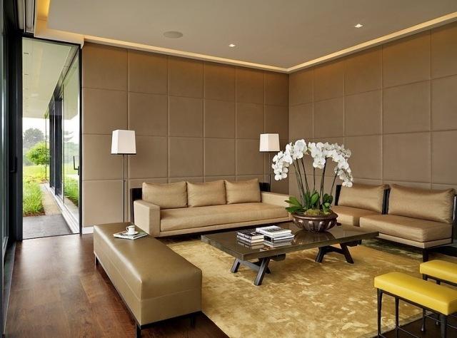 Wohnideen Wohnzimmer Architektenhauser | Möbelideen