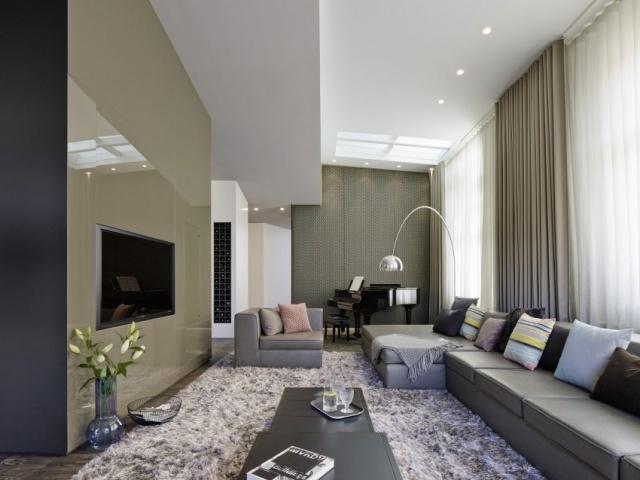 wohnzimmer in architektenhausern - boisholz, Mobel ideea