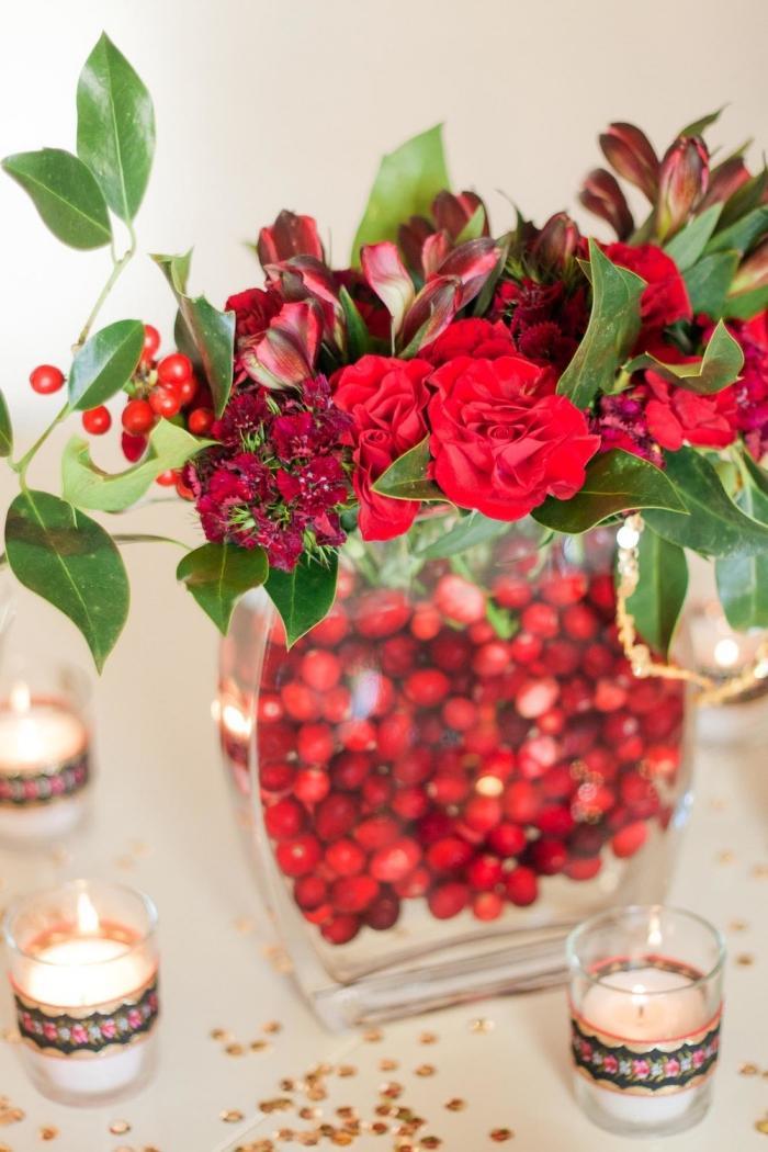 CranberryRot zur Hochzeit  Die perfekte Farbe fr die Deko