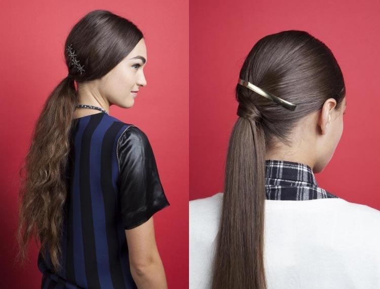 2 Stilvolle DIY Frisuren Mit Pferdeschwanz Für Jeden Tag
