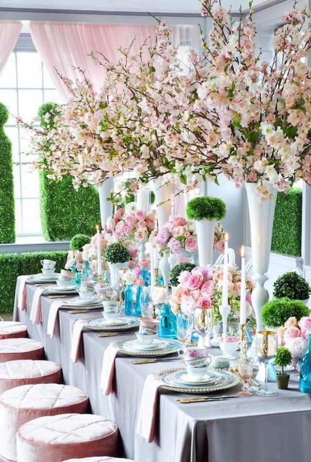 Hochzeit im Frhling  57 Ideen fr eine traumhafte Tischdeko