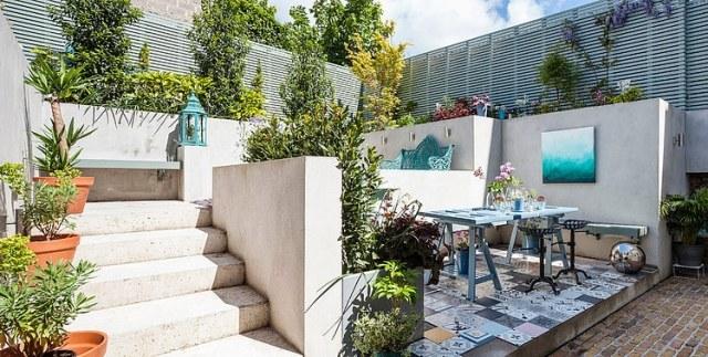 Im eklektischen Stil renoviertes Einfamilienhaus in Dublin