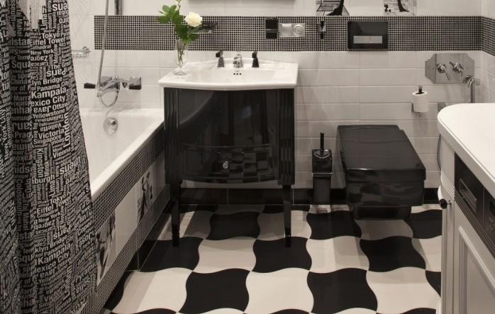 Kleines Badezimmer gestalten  30 Fliesen Ideen und Tipps