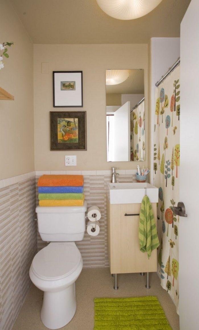 kleines badezimmer fliesen ideen » terrassenholz - Schnes Kleines Bad Beige Fliesen