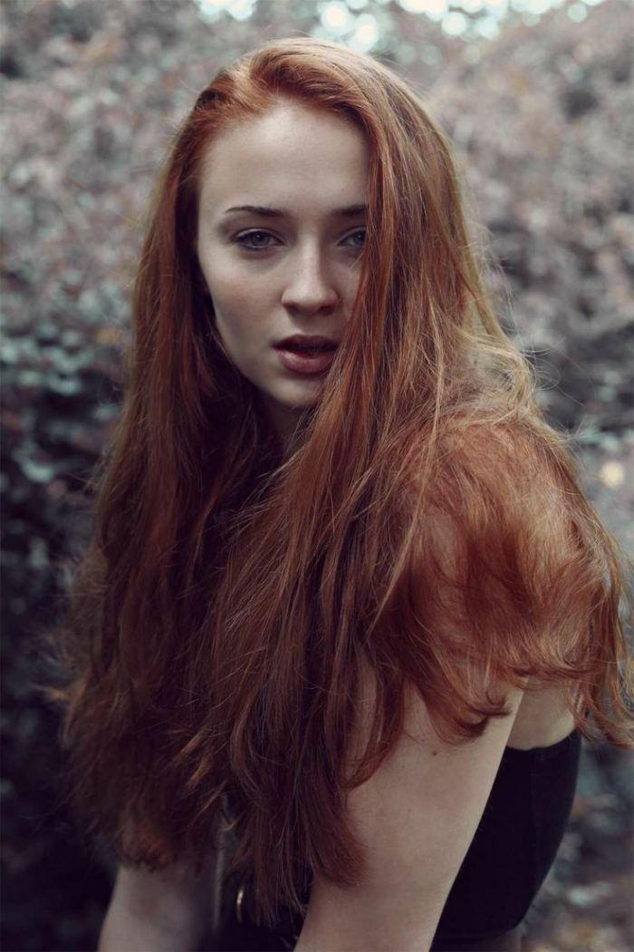 Frisuren Lange Rote Haare