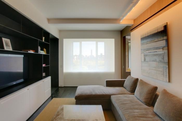 Wohnzimmer einrichten  Tipps fr lange schmale Rume