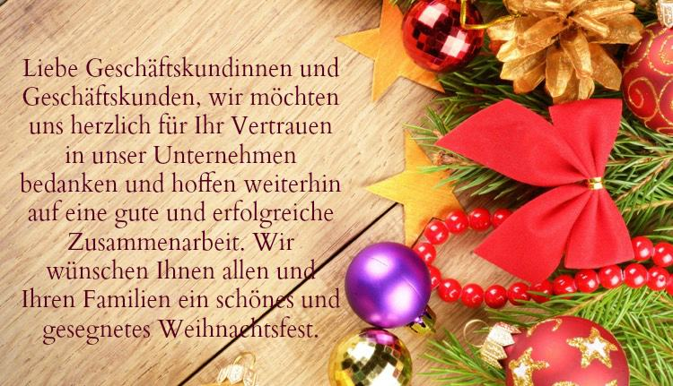 Weihnachtsgrüße Geschäftlich Per Mail.Weihnachtsgrüße Text Geschäftlich Email