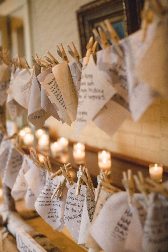 Kreative Ideen fr das Gstebuch zur Hochzeit im Herbst
