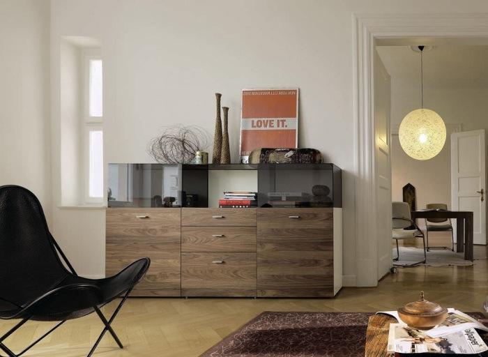Moderne Wohnzimmermbel  Die Linien Now by Hlsta