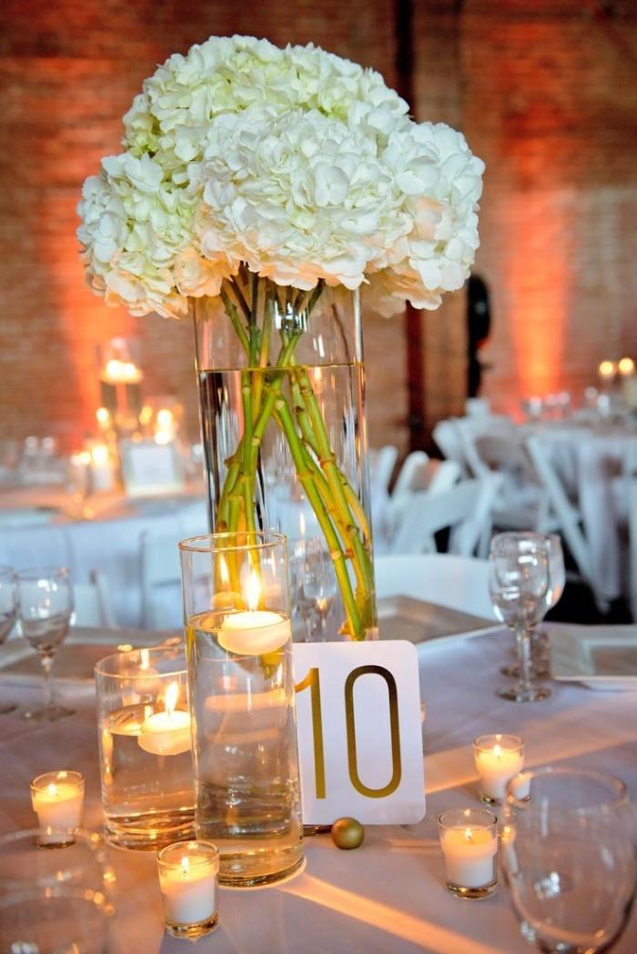 Tischdekoration zur Hochzeit  31 Ideen fr runde Tische