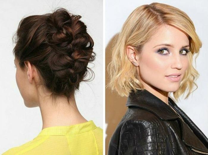 Damen Haarstylings Für Mehr Pepp Im Gewöhnlichen Alltag