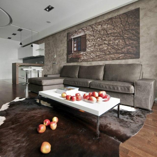 wohnzimmer einrichtungsvorschläge: stilvoll handmade kleine