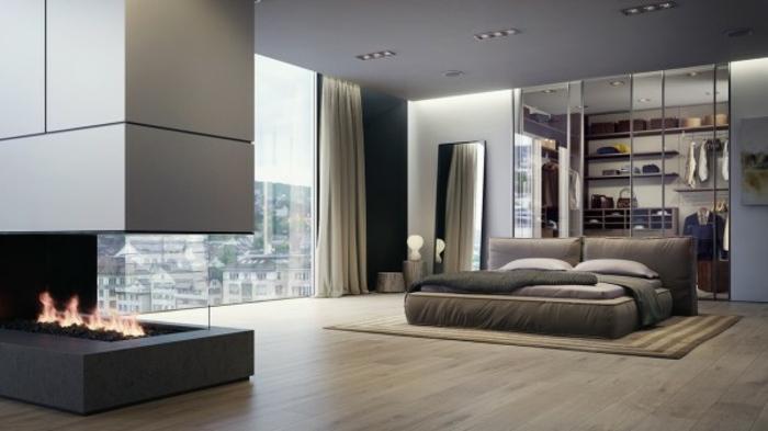 Inspiration Schlafzimmer mit Designer Akzenten