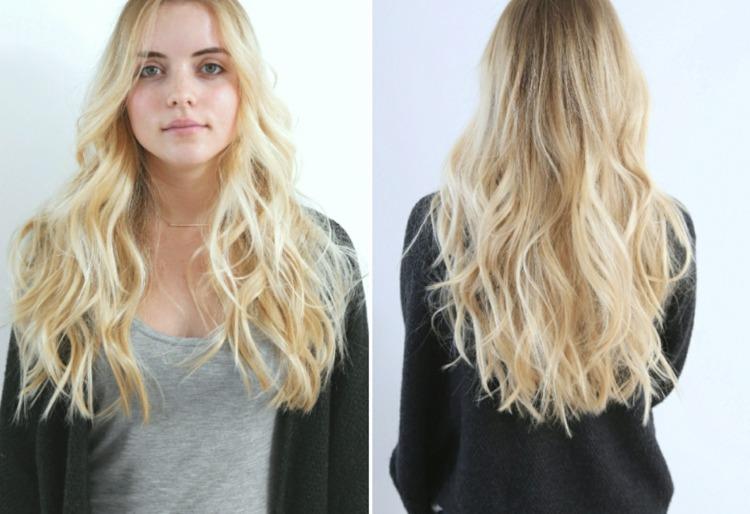 Frisuren Volumen Lange Haare Steckfrisuren