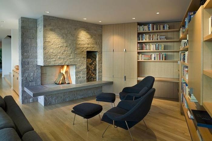 wohnzimmer ideen moderne trifft klassische | sichtschutz, Wohnzimmer dekoo