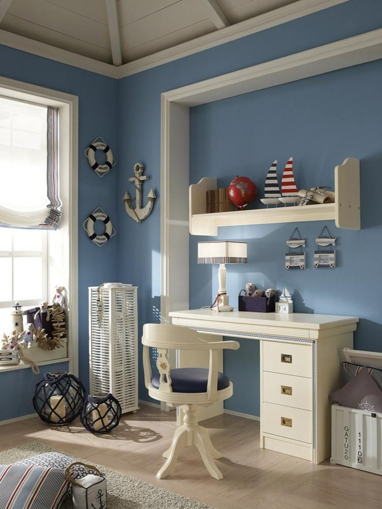 Kinderzimmer gestalten  maritime Deko und Mbel von Caroti