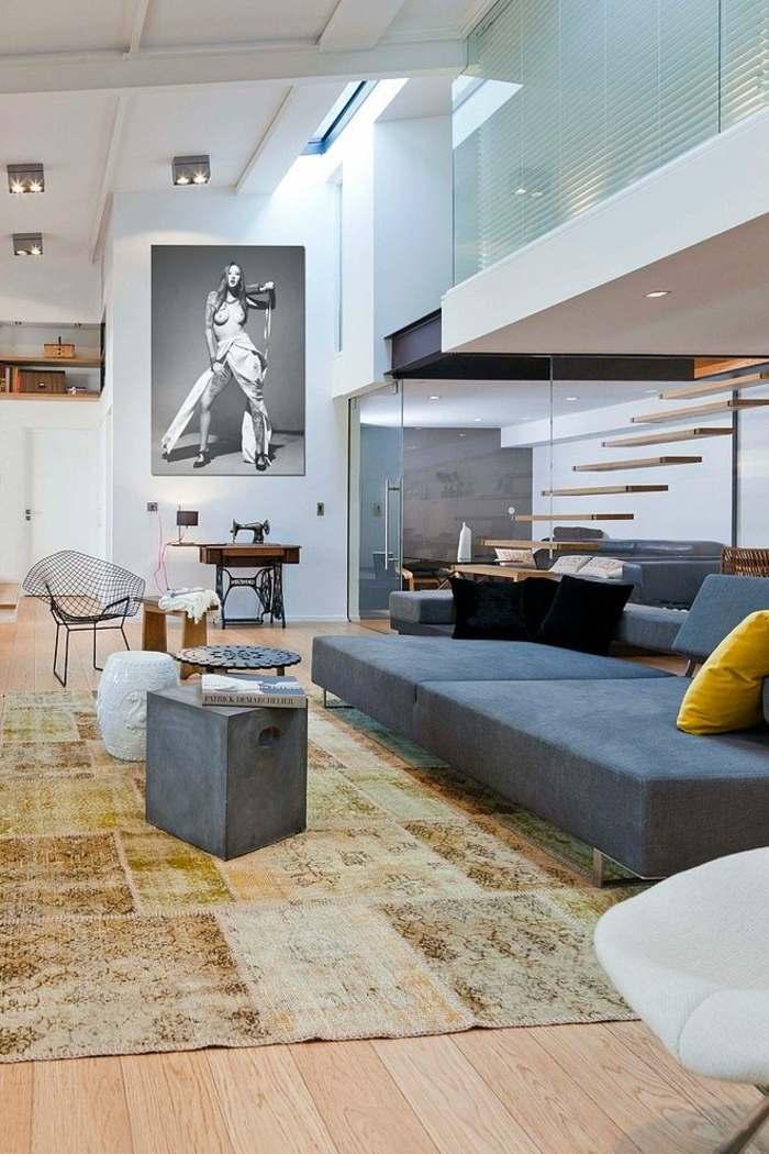 modernes wohnzimmer gestalten 44 wohnideen bilder deko und, Wohnzimmer dekoo