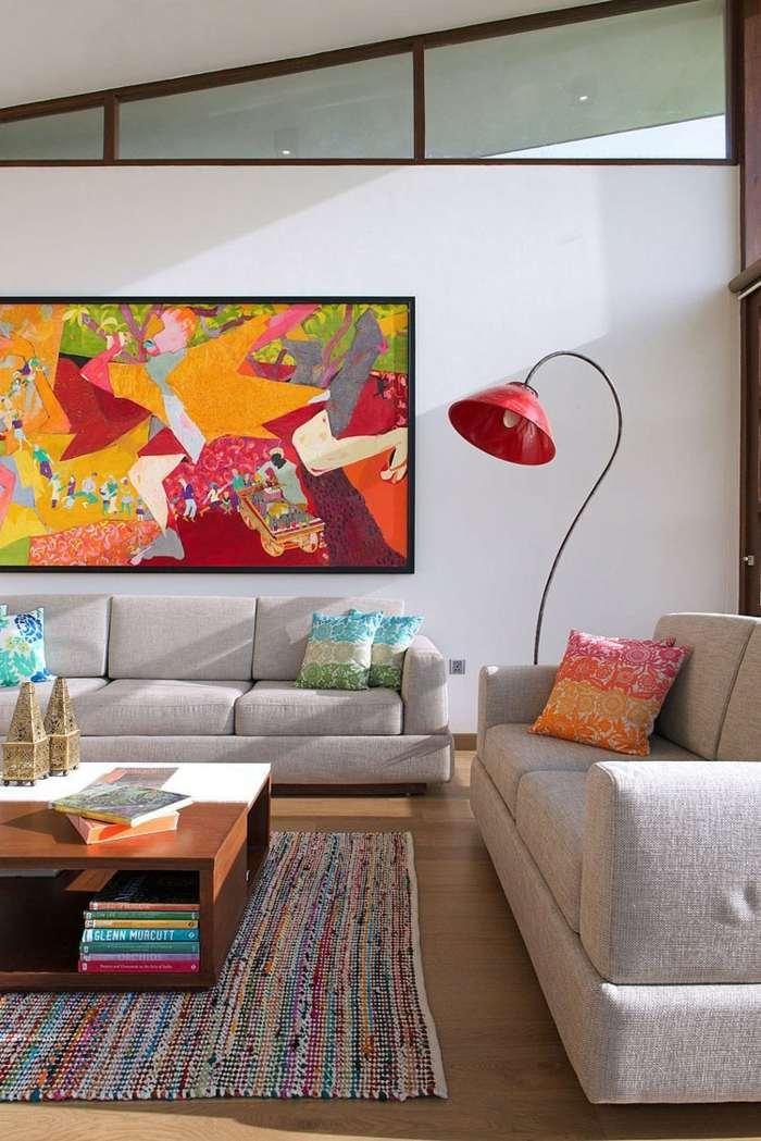55 wohnzimmer ideen die moderne trifft das klassische | designmore, Wohnzimmer dekoo