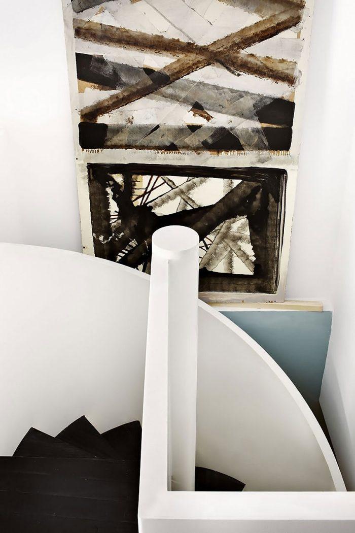 Privatwohnung mit eklektischem Interieur in warmen Farben