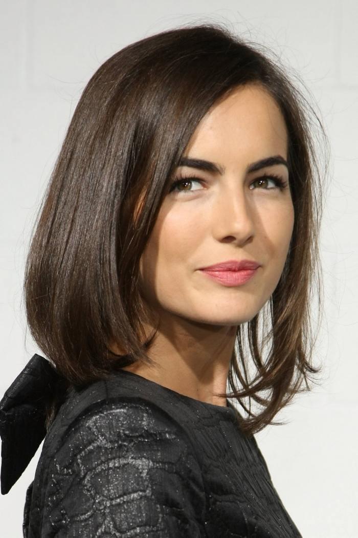 Haarstylings Für Brünette Haare Stilvolle Frisurideen Von Stars