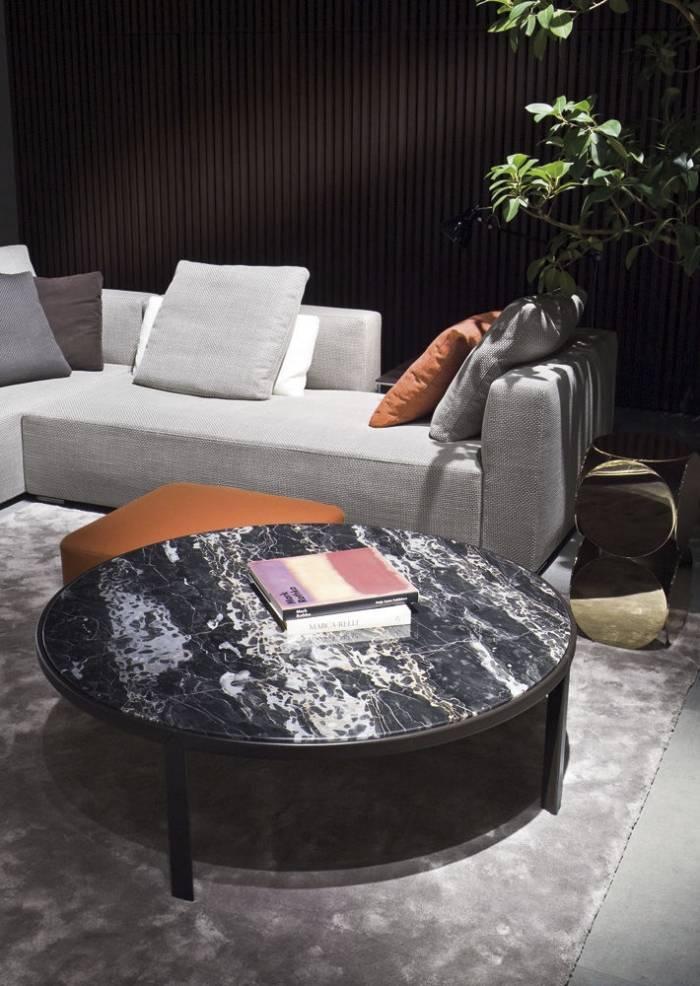 Awesome Design Sofa Plat Von Arketipo Mit Integriertem Regal Und ...